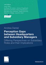 Perception Gaps between Headquarters and Subsidiary Managers