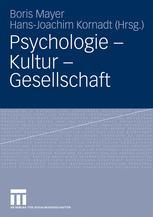 Psychologie – Kultur – Gesellschaft