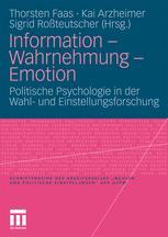Information – Wahrnehmung – Emotion