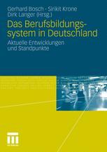 Das Berufsbildungssystem in Deutschland