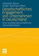 Gesellschaftliches Engagement von Unternehmen in Deutschland