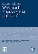Was macht Populärkultur politisch?