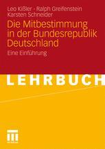 Die Mitbestimmung in der Bundesrepublik Deutschland