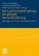 Korruptionsbekämpfung als globale Herausforderung