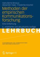 Methoden der empirischen Kommunikationsforschung