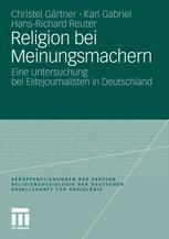 Religion bei Meinungsmachern