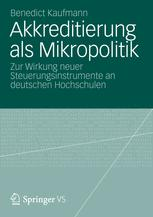 Akkreditierung als Mikropolitik