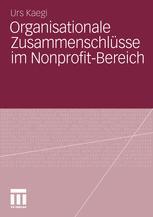 Organisationale Zusammenschlüsse im Nonprofit-Bereich