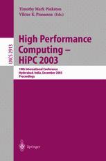 High Performance Computing - HiPC 2003