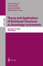 Theory and Applications of Relational Structures as Knowledge Instruments