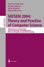 SOFSEM 2004: Theory and Practice of Computer Science