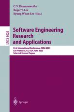 Software Engineering Research and Applications