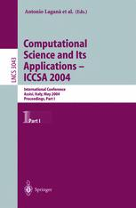 Computational Science and Its Applications – ICCSA 2004