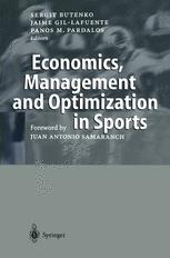 Economics, Management and Optimization in Sports
