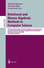 Relational and Kleene-Algebraic Methods in Computer Science