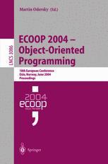 ECOOP 2004 – Object-Oriented Programming