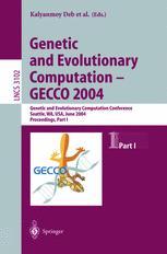 Genetic and Evolutionary Computation – GECCO 2004