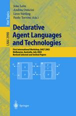 Declarative Agent Languages and Technologies