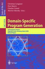 Domain-Specific Program Generation