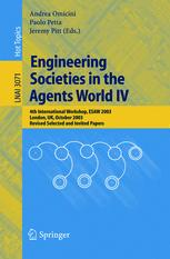 Engineering Societies in the Agents World IV