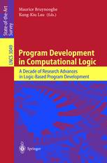 Program Development in Computational Logic