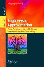 Logic versus Approximation