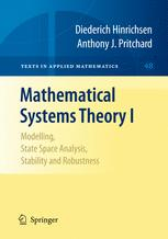Mathematical Systems Theory I