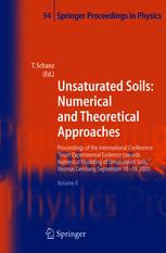 Unsaturated Soils: Numerical and Theoretical Approaches