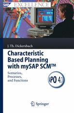 Characteristic Based Planning with mySAP SCM™