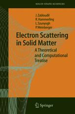Electron Scattering in Solid Matter