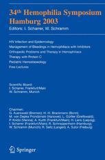 34th Hemophilia Symposium