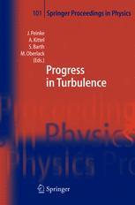 Progress in Turbulence