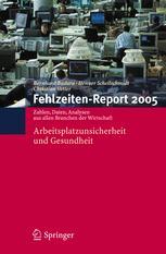 Fehlzeiten-Report 2005