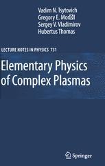 Elementary Physics of Complex Plasmas