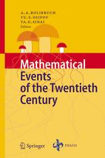 Mathematical Events of the Twentieth Century