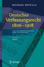 Deutsches Verfassungsrecht 1806–1918