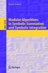 Modular Algorithms in Symbolic Summation and Symbolic Integration