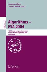 Algorithms – ESA 2004