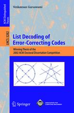 List Decoding of Error-Correcting Codes