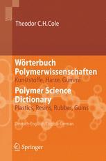 Wörterbuch Polymerwissenschaften