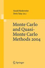 Monte Carlo and Quasi-Monte Carlo Methods 2004