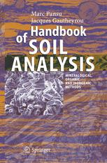Handbook of Soil Analysis