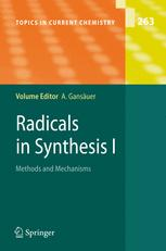 Radicals in Synthesis I