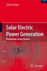 Solar Electric Power Generation