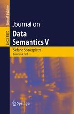 Journal on Data Semantics V