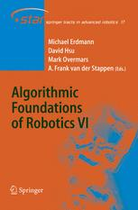 Algorithmic Foundations of Robotics VI