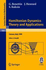 Hamiltonian Dynamics. Theory and Applications