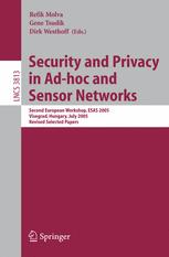 Security and Privacy in Ad-hoc and Sensor Networks