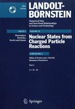 Tables of Proton and α-Particle Resonance Parameters. Part 2