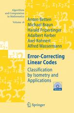 Error-Correcting Linear Codes